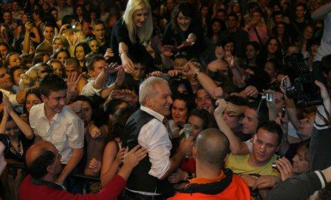 Željko Samardžić посрещнат с овации в Загреб