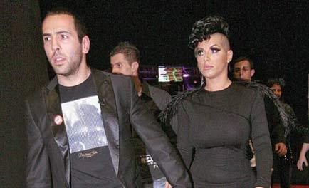 Съпругът на Sekа Aleksić получи бутилка в главата
