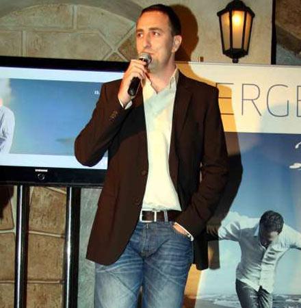 Sergej Ćetković представи новия си албум