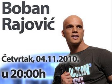 Boban Rajović ще направи голям концерт в Загреб