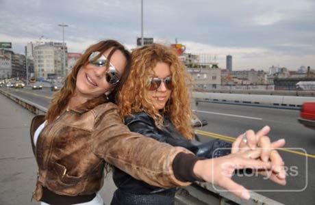 Indira Radić и Romana Panić снимаха клип