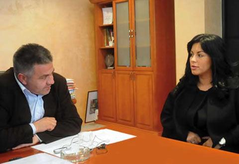 Seka Aleksić дала помощи за Кралево