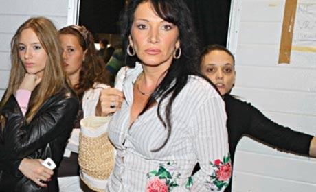 Goca Božinovska ухапана от бездомно куче