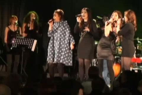 Aleksandra Radović, Nina Badrić, Karolina Gočeva и Maya Sar