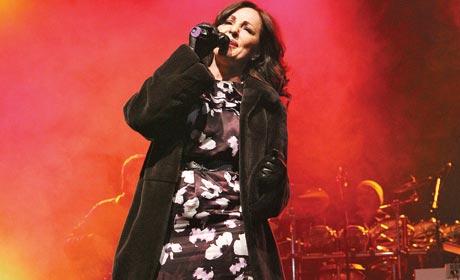 Ana Bekuta пяла с температура