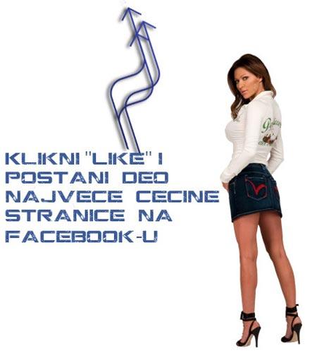 Ceca Ražnatović първа по брой фенове във Фейсбук
