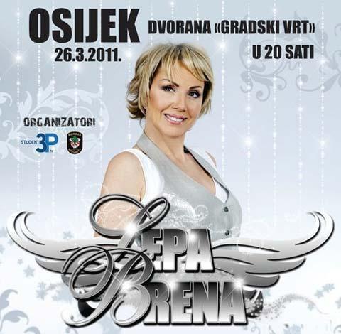 Lepa Brena отмени концерта в Осиек!