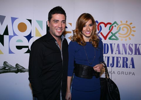 Željko Joksimović и Jovana Janković