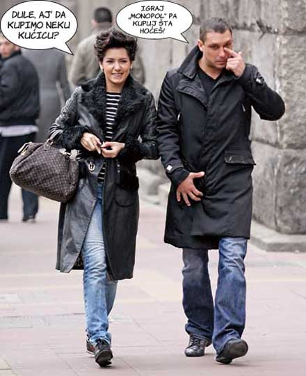 Свекървата е добра, но, все пак, Tanja Savić иска от мъжа си къща