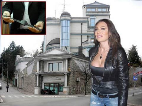 Ceca Ražnatović осем месеца под домашен арест!