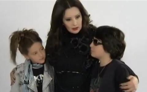 """Децата на Dragana Mirković в новия клип към песента """"Jedini"""""""