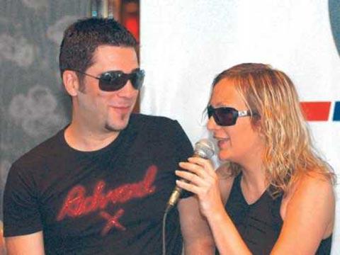 Željko Joksimović и Leontina Pat