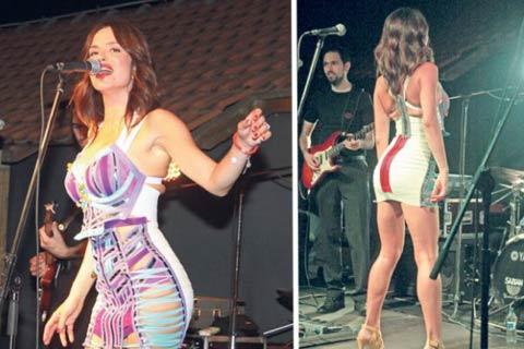 Severina, купи си по-голяма рокля!