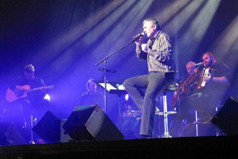 Полицията прекъсна концерта на Zoran Predin