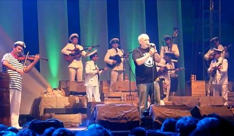 Панонската флотилия в Пула - концерт на Đorđe Balašević