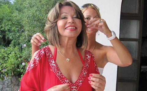 Neda Ukraden отпразнува рождения си ден в Лепетани