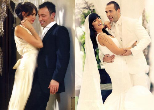 Emina Jahović-Seka Aleksić, сватби