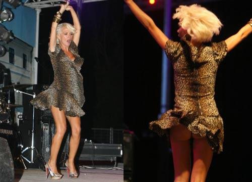 Повдигнала се рокличката на Maja Šuput и открила всичко!