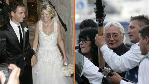 Oliver Dragojević ожени сина си