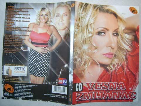 Vesna Zmijanac - ново CD 2011