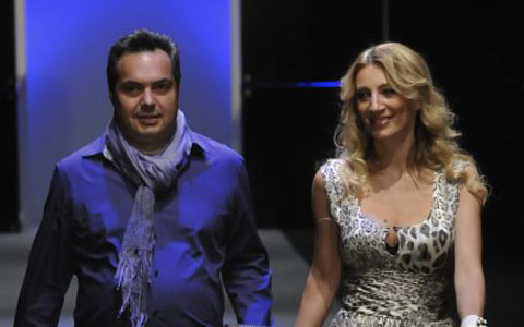 Ana Stanić блести на модния подиум