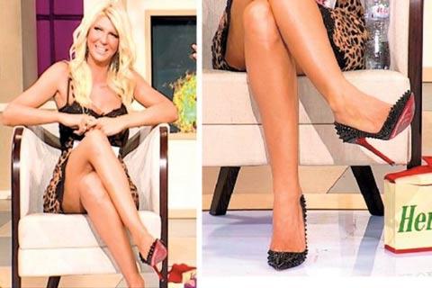 Обувките, които JK носи по време на секс