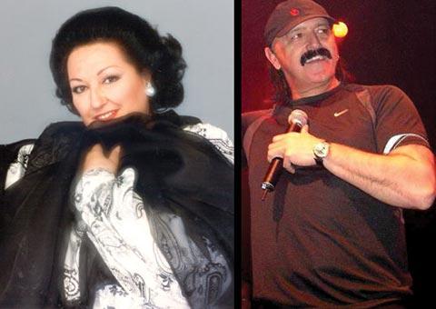 Haris Džinović пее с Montserrat Caballé!
