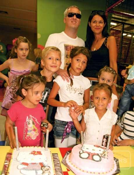 Saša Matić - рожден ден на наследничките