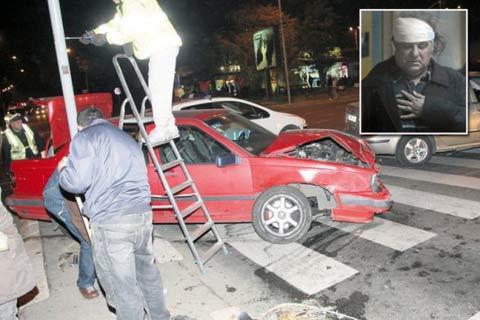 Miki Jevremović пострадал в пътно произшествие