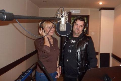 Ivana Selakov и Aca Lukas записват дует