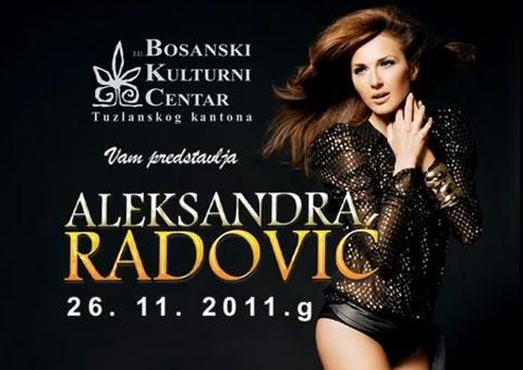 Aleksandra Radović запали Тузла