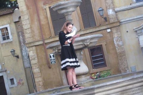 """""""Neverne Bebe"""" снимаха нов клип на римския площад"""