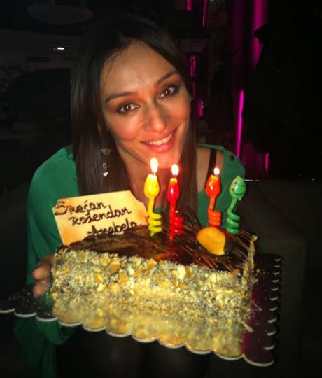 Anabela Bukva отпразнува рождения си ден