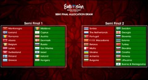 Евровизия 2012 – полуфиналисти