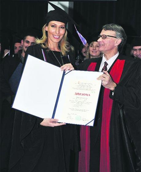 Aleksandra Perović стана магистър