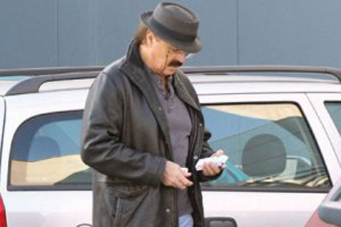 Haris Džinović на зимна почивка без съпругата си