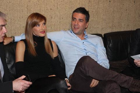 Željko и Jovana за първи път заедно на публично място след сватбата