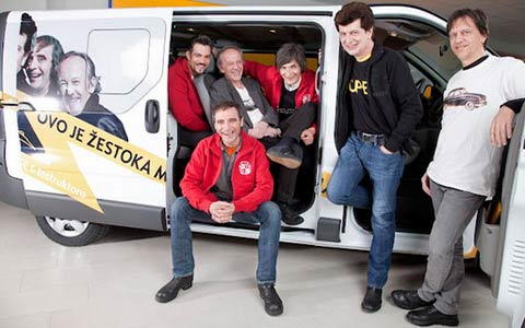 Bajaga и Instruktori вече ще пътуват с Opel Vivaro