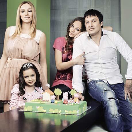 Anabela и Gagi заедно отпразнуваха рождения ден на по-малката щерка
