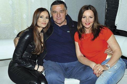 Ana Bekuta и Milutin Mrkonjić на концерта на Mira Škorić