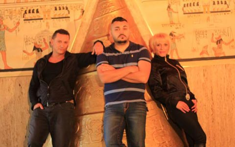 Šako и Azra Polumenta снимаха клип с фараони