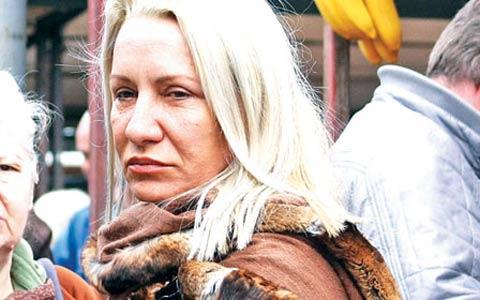 Vesna Zmijanac без грим и навъсена