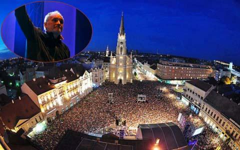 Boris и 30 000 фенове на Balašević на концерта му в Нови Сад