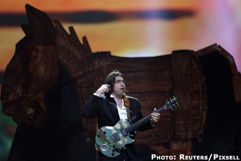 Rambo Amadeus не успя да влезе в големия финал на Евровизия