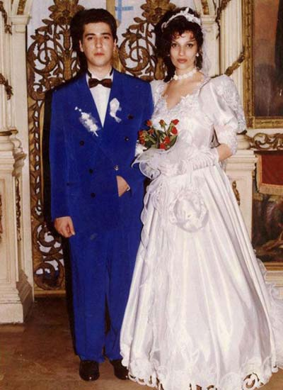 Željko Joksimović на първата си венчавка