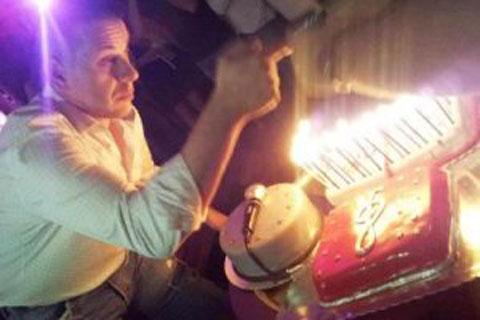 Vlado Georgiev отпразнува рождения си ден
