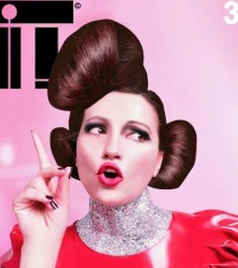 Nina Badrić на корицата на италианското списание IT