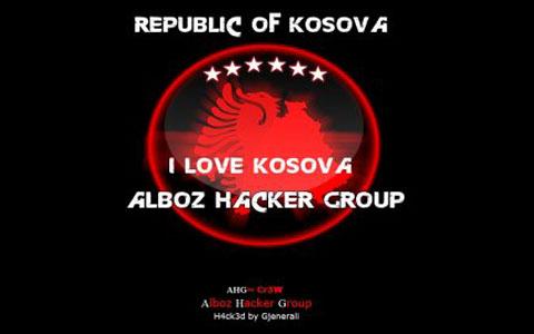 """Албанските хакери в акция: Отново ударен сайтът на """"Beogradski Sindikat"""""""
