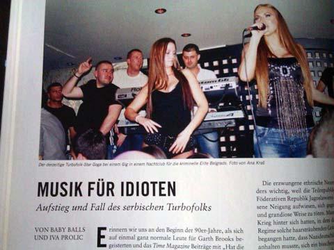 "Goga отново главна звезда: Германците нарекоха турбо фолка ""музика за идиоти"""