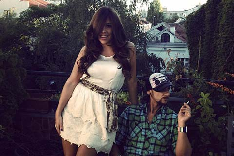 Kaja и Junior Jack отблязаха рожден ден и годишнина от връзката